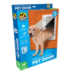 Large Timber Door or Wall Fitting Dog Door