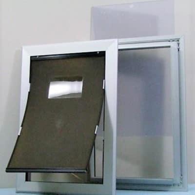 Sale! Extra Large Aluminium Framed Door