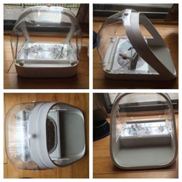 Rear Cover For Surefeed Microchip Pet Feeder Aussie Pet