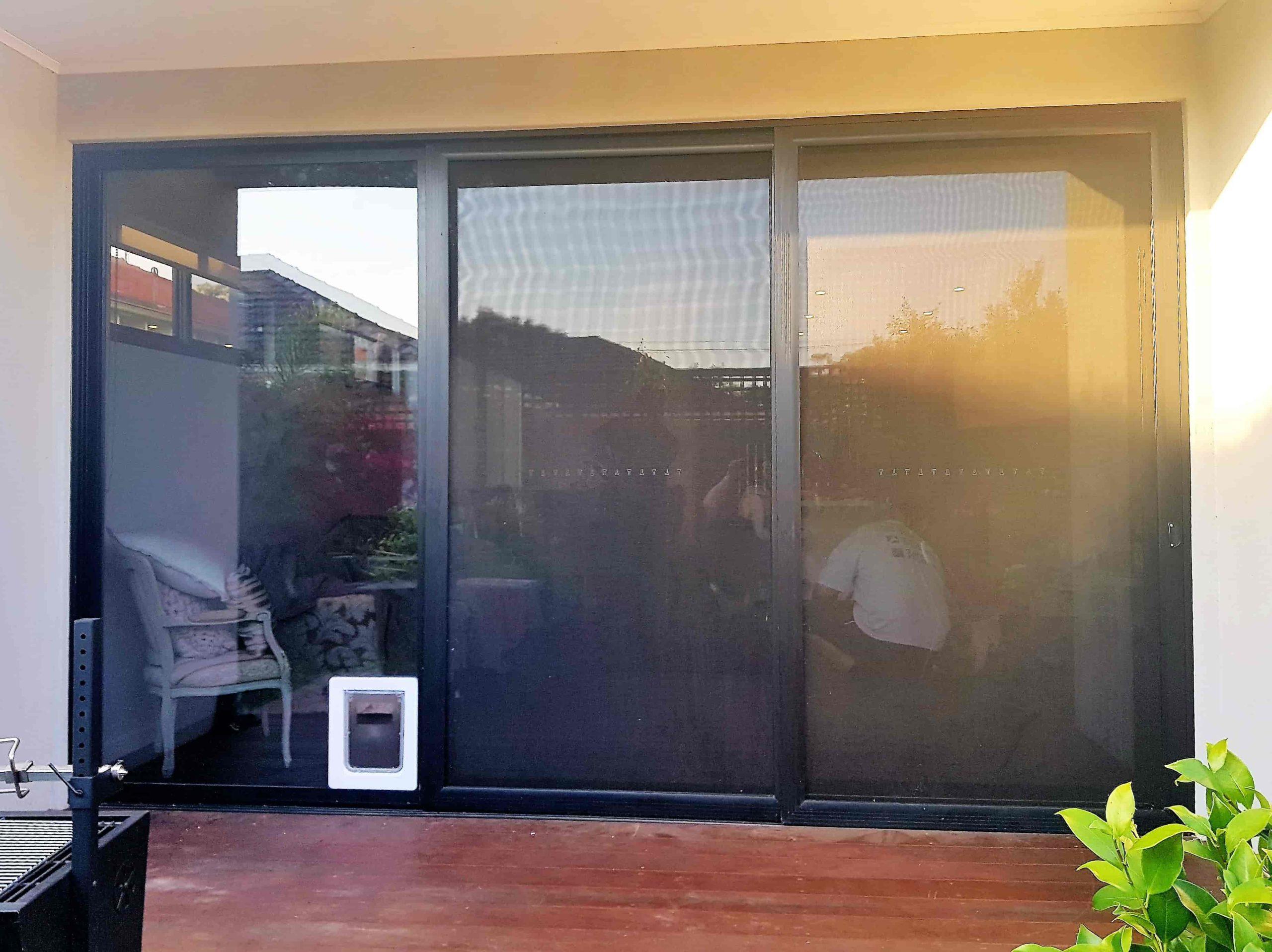 Small Pet Cat Flap Amp Dog Door For Glass Security Door