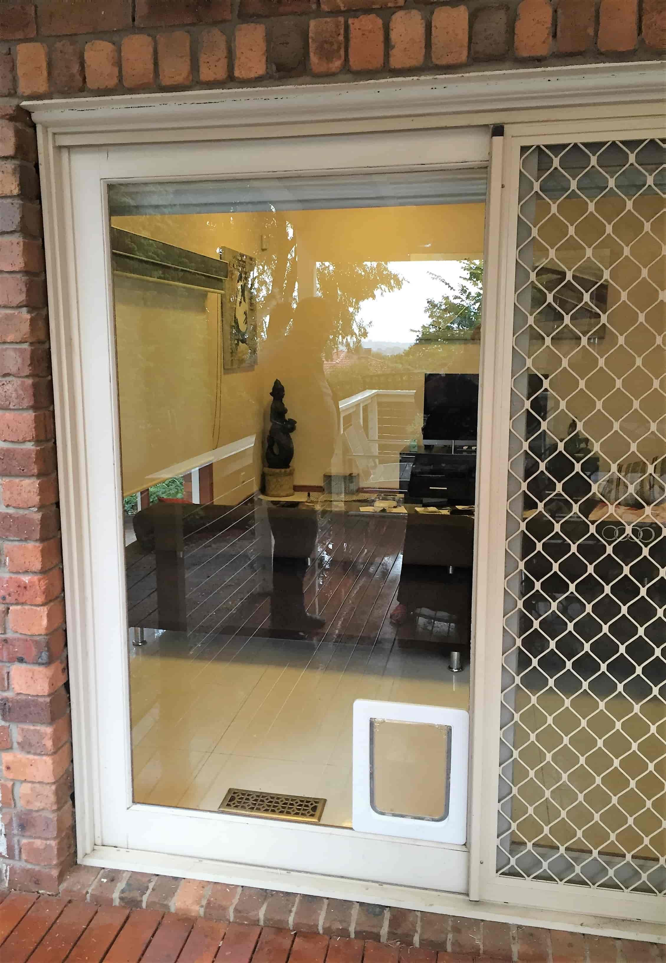 Screen Door With Pet Door | Aussie Pet Doors