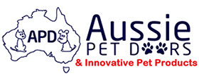 Aussie Pet Doors | Dog & Cat Flap Door Australia Logo